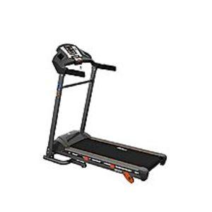 UK FitnessUK-016 - Motorized Treadmill with Manual Incline - 2.0 HP - Black & Grey