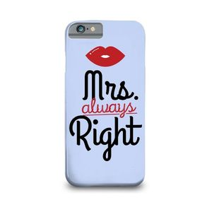 Mrs Always Right Printed Mobile Cover (Samsung C7)