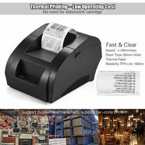 Portable 58mm USB POS Thermal Receipt Printer
