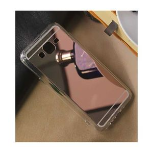 For Samsung Grand Prime Plus Luxury Mirror Shine Tpu Plane Simple Phone Cover Color Rose Gold