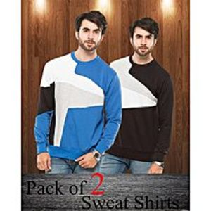 AybeezPack Of 2 Sweat Shirts For Men - ABZ-2281 S