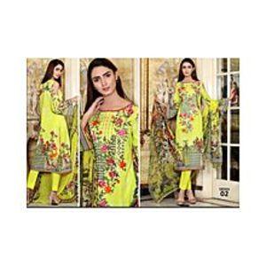 Alishah NoorParrot Green Luxury Lawn Unstitched 3 Piece Suit