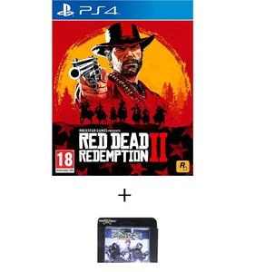 playstation 4 dvd Red Dead Redemption 2 Standard Edition ps4 game plus kontrol freek