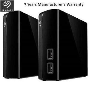 Seagate Backup Plus Hub 4TB USB 3.0 3.5 External Portable Hard Drive - Black - STEL4000300