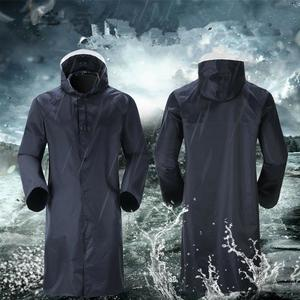 New Mens Womens Waterproof Raincoat Long Trench Unisex Rain Coat Jacket Adults.