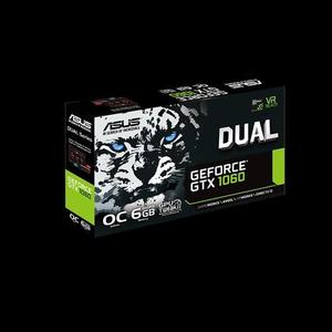 ASUS Dual series GeForce® GTX 1060 OC edition 6GB GDDR5 for best eSports gaming & color-matched PC build