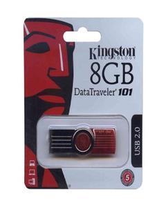 Kingston - Kingston USB 8 GB Flash Drive 2.0 Data traveler