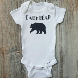 UR Baby Unisex Letter Printed Short Sleeve Belly Protect Bodysuit Romper Jumpsuit