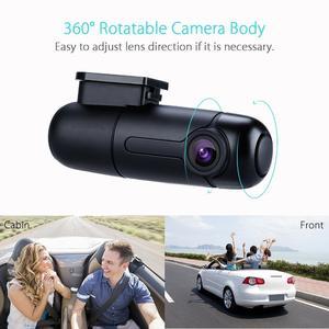 Blueskysea B1W HD 1080P Mini WiFi Car Dash Camera Dashboard 360 degree Rotate Capacitor Parking mode IMX323 Car DVR Recorder