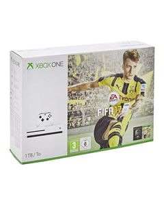 Microsoft Xbox One S - 1TB - FIFA 17 Bundle with Charging Pod & Vertical Stand