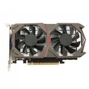 GTX1050 2G GDDR5 128Bit Video Gaming Graphics Card with Dual Cooling Fan