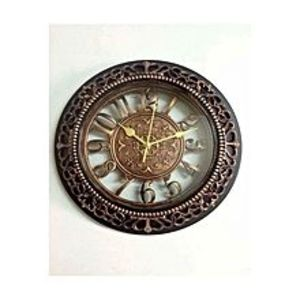 Shopping Traders Antique Descent Wall Clock