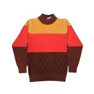 Mustard & Maroon Sweater 6054 (1720) 217631