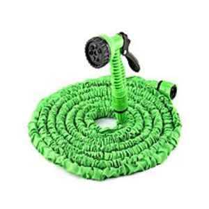 Al-KhaleejMagic Garden Hose, 100Ft Expandable Hose Pipe And 7 Function Spray Nozzle For Car Wash Cleaning Watering Lawn Garden Plants