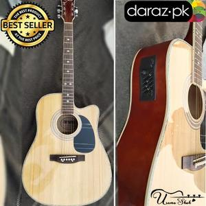 42 inch Jumbo Semi Acoustic Arena Original Branded Guitar With Acessories
