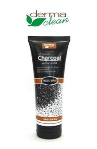 Derma Clean Charcoal Black Mask  Facial Mask 120m