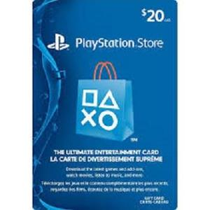 Sony Playstation CAD 20 - Canada PSN Gift Card