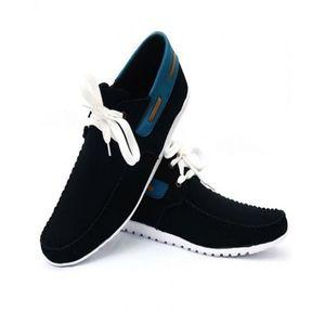 Black Rubber Sneakers For Men