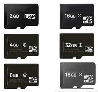 Micro SD HC - Memory Card 32GB 16GB 2 GB 8 GB