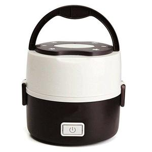 Electric Cooker Steaming Container - Mini Rice Cooker - Double Insulation Plug Heating - Multi-function Cooking Steaming Lunch Box - 1.3L