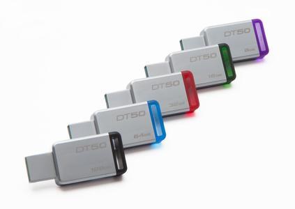Kingston 128GB DataTraveler USB 3.0 Flash Drive, Speed Up to 110MB/s