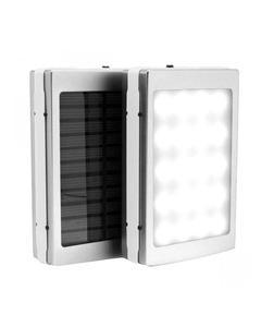 Solar Power Bank Flash Light 15000Mah - Solar Power Bank - Black