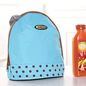 OEMLunch Box Cooler Zipper Bag Bento Dot Tote Lunch Pouch Little Pattern Bu
