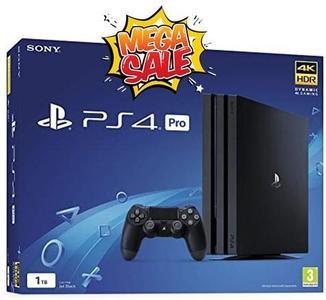 PlayStation Pro 1 tb Console Jet Black Ps4