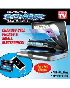 E-Charge Wallet Plus Power Bank Plus Card Money Holder