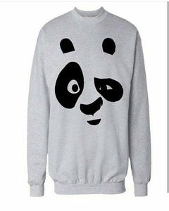 Rex Bazar - Grey Panda Printed sweat Shirt For Men