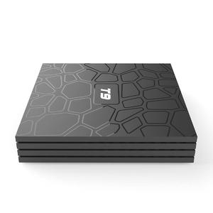 Android 9.0 TV BOX T9 Smart TV Box 4K Quad Core Media Player 4GB RAM 32GB/64GB ROM H.265 2.4G/5G WIFI USB 3.0 TVbox Set Top Box