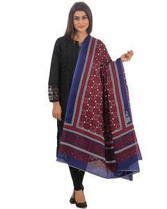 Multi Color Sindhi Ajrak Sl-010