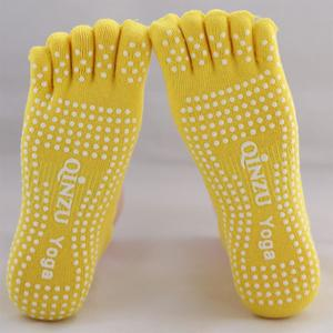 Rainbowroom Women Warm Yoga Gym Non Slip Massage Anti Slip Toe Socks Full Grip Socks Heel