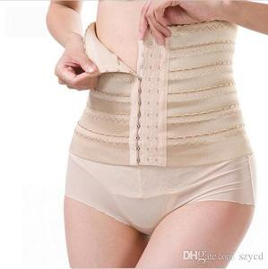 Breathable Waist Trimmer Postpartum Slim Belly Belt Corset