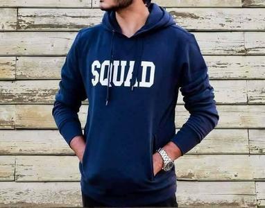 Squad Printed Sweat Hoodie 0047