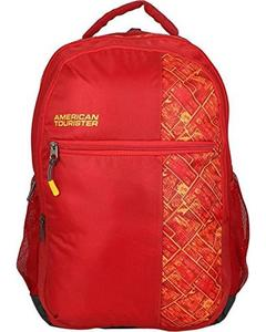 Pack of 2 - At Jazz I Backpack + Pencil Case - Poppy Red