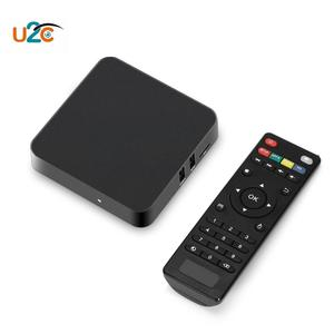 Z - Pro TV Box Android 7.1 Support 4K 2.4GHz WiFi Amlogic S905X EU Plug - Black