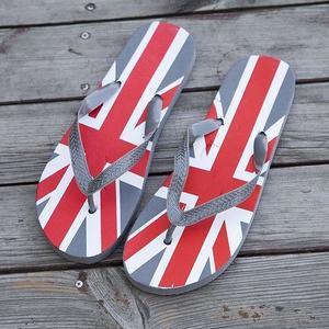 Mens Summer Flip Flops Fashion Beach Slippers Sandals-Grey