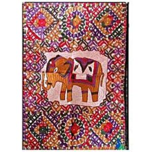 MerkaKraftTraditional Wall Hanging - ElephantHand Made-Multi Color