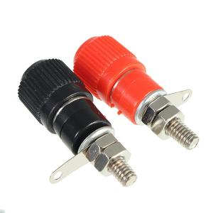 Hawthorn2PCS One pair (RED + BLACK) Amplifier Terminal Binding Post Banana Plug