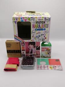 Combo Polaroid Instax Harajuku Camera - Pink