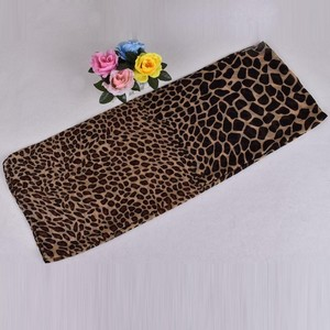 Fashion Women Long Soft Wrap Scarf Ladies Shawl Paris Yarn Leopard Print Scarves