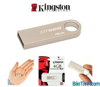 Kingston 4GB USB Flash Drive 3.0 Data Traveler SE9 G2 (Metal) 3 Month Warranty