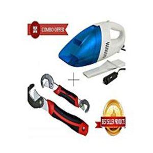 Makkah MaalPack of 2 - Car Vacuum Cleaner With Snap N Grip