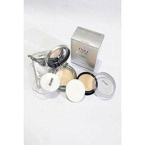 Pack Of 2 - Twin Cake Face Powder Foundation Base With Refill Pack