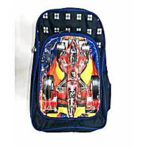 Living Style Blue School Bag For Boys