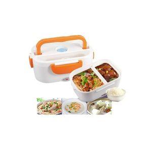 Hot deals Electric Lunch Box - Orange & White