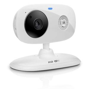 Connect Indoor HD Wi-Fi Smart Home Monitoring Camera, White