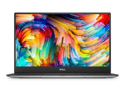 "DELL XPS 13 9360 Coreâ""¢ i7-7500U 2.3GHz turbo upto 2.7Ghz, 8GB, 256GB HDD, 13.3 QHD, Backlit KB, Touch, win 10 (Silver)"