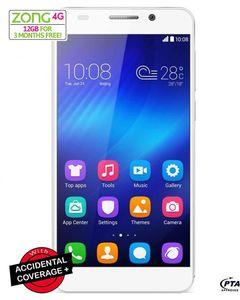 Huawei Honor 6x - 5.5 - 32GB HDD - 3GB RAM - 12MP Camera - Dual Sim - Gold - 4G LTE